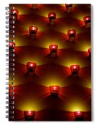 Moody Red Spiral Notebook