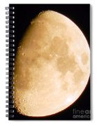 Moon Craters Galore Spiral Notebook