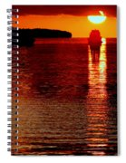 Moon Dance Spiral Notebook