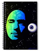 Moon Eye Bi Color Spiral Notebook