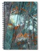 Moon Flower Spiral Notebook