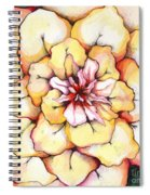 Moon Flower Out Of The Bloomers And Onto The Bloom Spiral Notebook