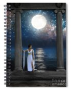 Moon Goddess Spiral Notebook