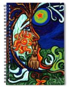 Moon In Tree Spiral Notebook