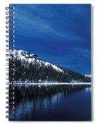 Moon - Lake Spiral Notebook