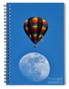 Moon Landing Spiral Notebook