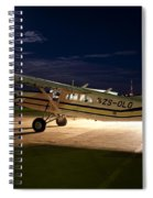 Moon Light Spiral Notebook
