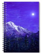 Moon Mountain Spiral Notebook