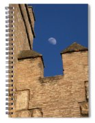 Moon Over Alcazar Spiral Notebook