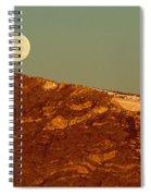 Moon Over Mount Ida Spiral Notebook