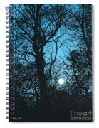 Moon Over Pittsburgh Spiral Notebook