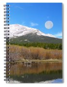 Moon Over St. Malo Spiral Notebook