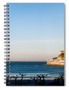 Moon Over The Bay Spiral Notebook