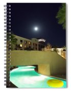 Moon Over The Casino Spiral Notebook