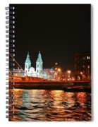 Moon Over The Danube Spiral Notebook