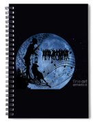 Moon Party Spiral Notebook