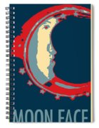 Moon Phase In Hope Spiral Notebook
