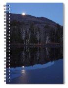 Moon Rise Spiral Notebook