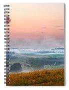Moon Valley Morning Spiral Notebook