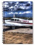 Mooney M20f  Spiral Notebook