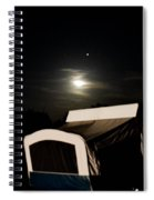 Moonlight Camper Spiral Notebook