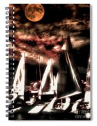 Moonlight Cruise Spiral Notebook