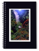 Moonlight Falls Spiral Notebook