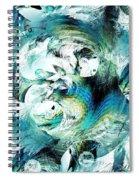 Moonlight Fish Spiral Notebook