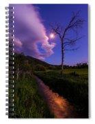 Moonlight Meadow Spiral Notebook