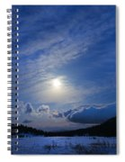 Moonlight Over Tahoe Meadows Spiral Notebook