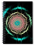 Moonlight Pond Spiral Notebook