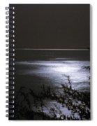 Moonlight Reflection Spiral Notebook