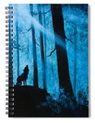 Moonlight Serenade Spiral Notebook