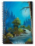 Moonlight Stream Spiral Notebook