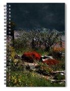 Moonlit Hillside In Africa Spiral Notebook