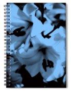 Moonlit Lilies Spiral Notebook