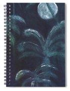 Moonlit Palms Spiral Notebook