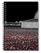 Moonlit Tulips Spiral Notebook