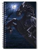Moonlit Warrior Spiral Notebook