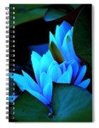 Moonlit Waterlilies Spiral Notebook