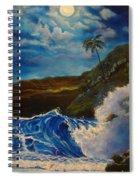 Moonlit Wave 11 Spiral Notebook