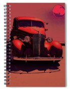 Moonrise Graphic Spiral Notebook