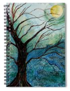 Moonrise In The Wild Night Spiral Notebook