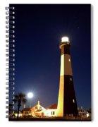 Moonrise On Tybee Island Spiral Notebook