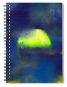 Moonrise Primitive Spiral Notebook
