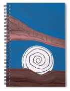 Moonscape Original Painting Spiral Notebook