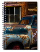Moonshine Express Spiral Notebook