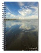 Moonstone Beach Reflections Spiral Notebook