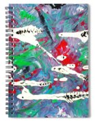 Moonwort And Rattlesnakes Spiral Notebook