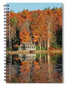 Moore State Park Autumn I Spiral Notebook
